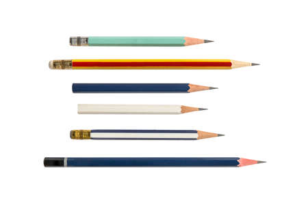 Pencil isolated on white background 免版税图像