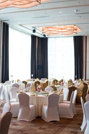 Banquet at the wedding 免版税图像