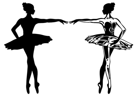 classical dance: ballerina