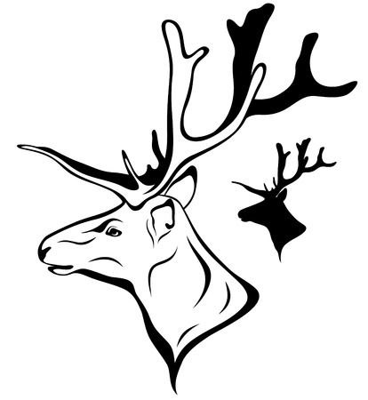 bucks: deer head