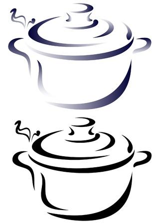 vecteur casserole Vecteurs