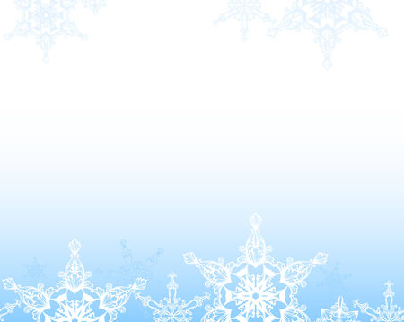 흰 서리:  tender winter snow background (horizontally seamless)