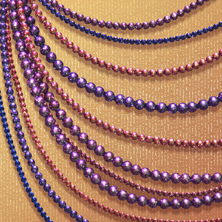 Vector abstract background with colored beads for your presentation