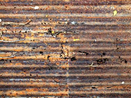 Rust on a galvanize sheet Stock Photo - 16034329