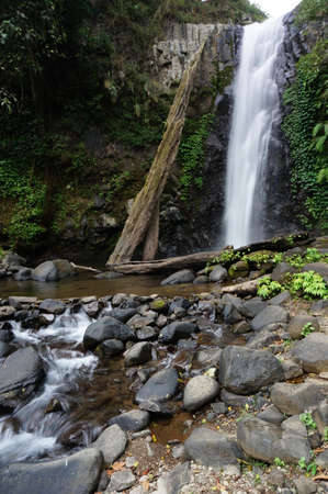 Rayap Waterfall is a beautiful place to visit with clear water and comes from mountain sources