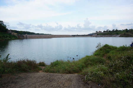 Reservoir is an artificial lake used as a river dam that aims to store water.