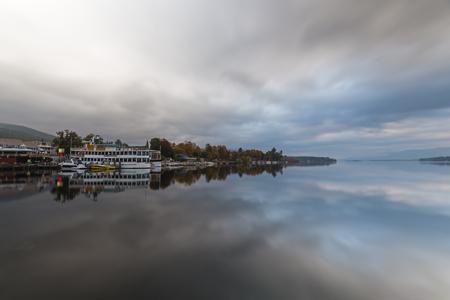 berth: Lake George at sunrise