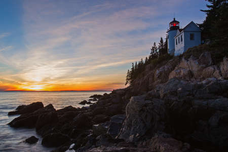 New England Lighthouse, The Bass Harbor Head Light photo