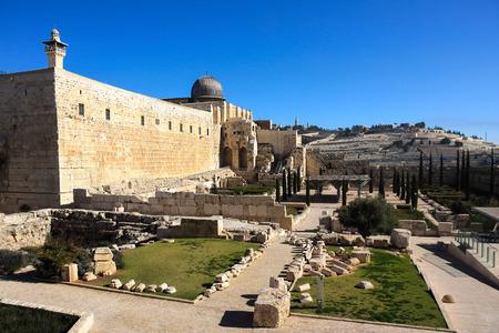 al aqsa: The al-Aqsa Mosque on the Temple Mount