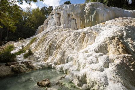 Terme San Filippo Bagni San Filippo Tuscany in the province of Siena Italy