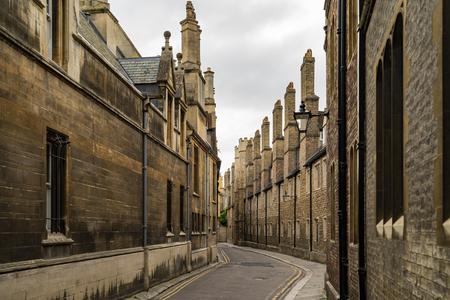Street in Cambridge, UK