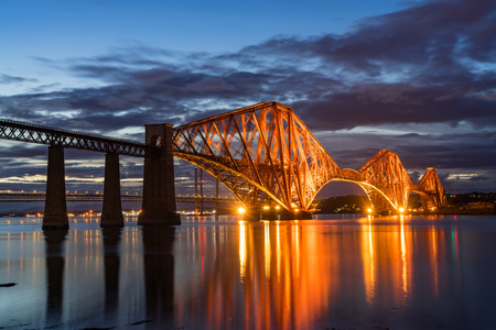 Forth Rail Bridge, Firth of Forth, South Queensferry, Scotland