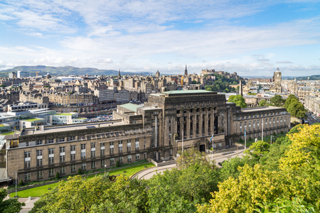 St. Andrew`s House, the building of the Scottish Government, in Edinburgh, Scotland Stock Photo