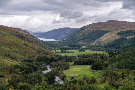 Dundonnell river, scottish highlands, Wester Ross