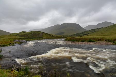 Buachaille Etive Mor in the Scottish Highlands, Scotland