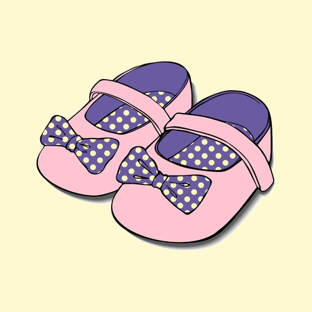 designs of baby shoes with bow for girls