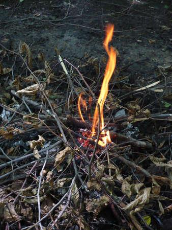 not open: bene a guardare in questo modo dopo l'incendio, ma non dovrebbe spegnere un incendio, e fuori non non lasciare aperto il fuoco