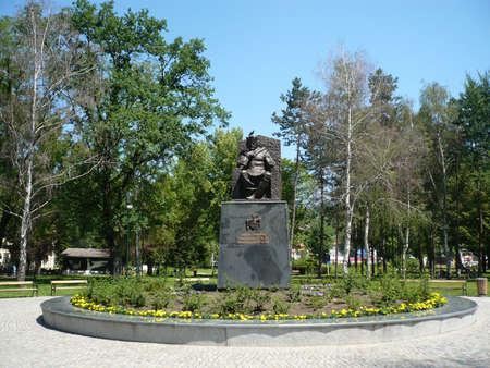 tuzla: statuesking Tvrtko I in downtown Tuzla Bosnia, and in the central park city in Tuzla Tvrtko I Kotromanic