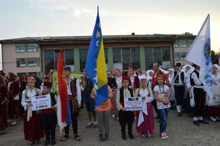 bosna: 2 ago 2014 anni Punto 8 consecutivi Festival internazionale del folklore in Lukavac Partecipa folklore da Croazia, Serbia, Turchia, Bosnia-Erzegovina