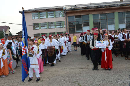 bosna and herzegovina: 2 august 2014 years place 8 consecutive international folklore festival in Lukavac Participated folklore from Croatia,Serbia,Turkey,bosna and Herzegovina Editorial