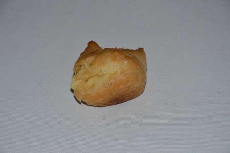 Deserts princess doughnuts.Hollow princess doughnut filled with cream Stock Photo
