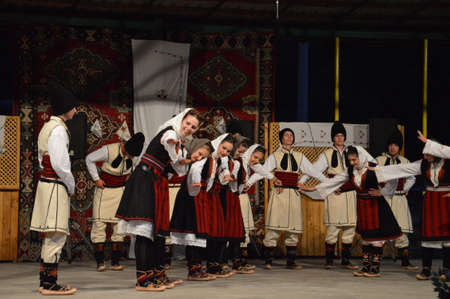 10 international festival folklore Lukavac 9.7.2016 years.Everyhere KUD Ozren from Krtova fromBosnia and Herzegovina performed dances