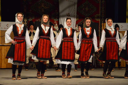 10 international festival folklore Lukavac 9.7.2016 years.Everyhere KUD Ozren from Krtova fromBosnia and Herzegovina performed dances