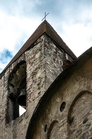 significant: The San Paragorio of Noli, in Liguria, one of the most significant examples of Romanesque architecture dellItalia north.