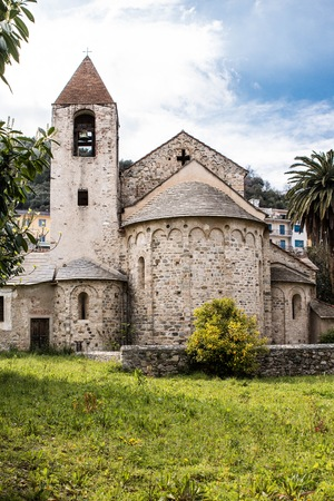 place of interest: The San Paragorio of Noli, in Liguria, one of the most significant examples of Romanesque architecture dellItalia north.