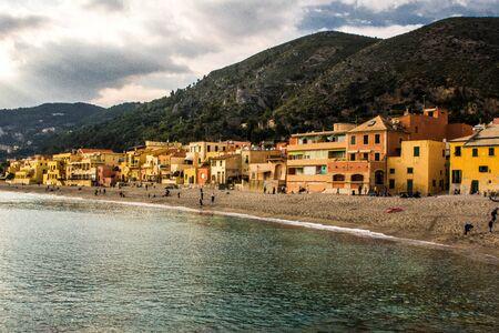 Varigotti. Small village and beautiful resort in Liguria, Italy