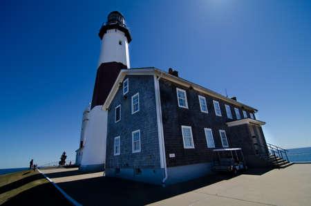 montauk: Montauk Lighthouse Stock Photo