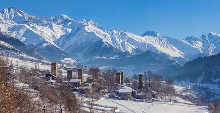svaneti: Svaneti village