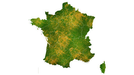 France map detailed visualization for country place,travel,texture and background