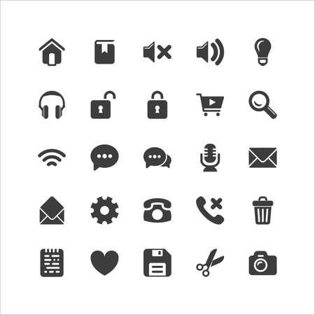 and sound: Navegador Retina Icon Set