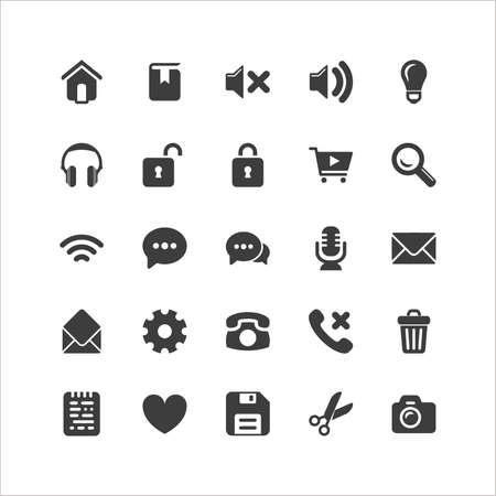 audio: Retina Browser Icon Set
