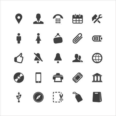 Retina Social Icon Set Stock Vector - 16598066