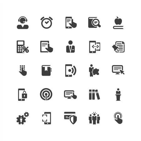 retina: Retina Business Icons Set