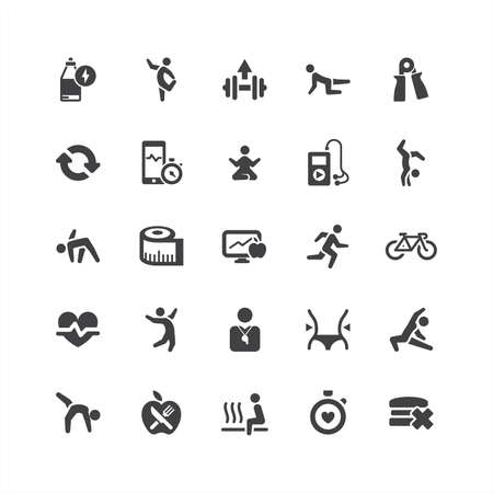 Retina Health Icons Set