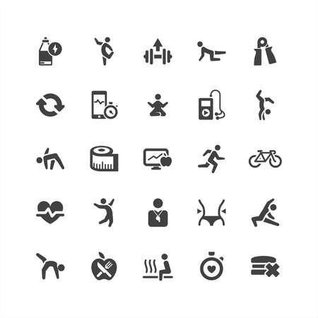 nfc: Retina Health Icons Set