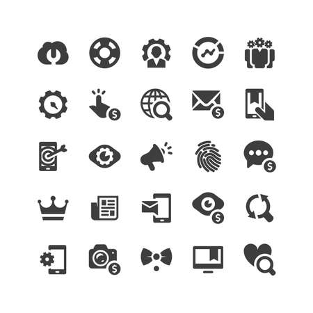 optimize: Retina ready Icons Set