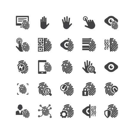 fingermark: Retina ready Icons Set