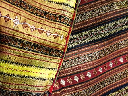 tissu soie: tissu de soie Banque d'images