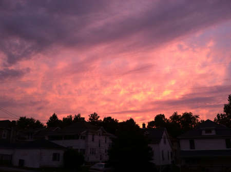 The sunset the other evening