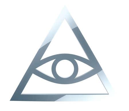 illuminati: Illuminati Sign Stock Photo