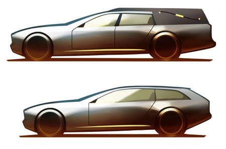 hearse: Car Body Hearse & Shooting Brake