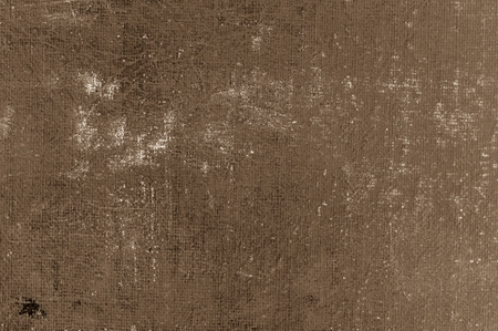 gauze: Sepia grunge background. Distressed gauze cloth.