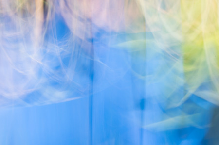 Blurred abstract background, Billowing sheer fabric concept. Stock Photo