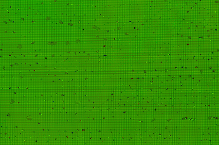 Small water droplets background with a pattern of pixels in a green colour. Stock Photo