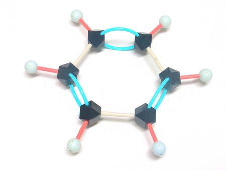 benceno estructura  Foto de archivo - 334410