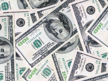 moola: bills1 Stock Photo